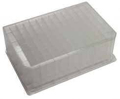 Pure-Pass 96 Well Plate, PP 8mm Square, V Bottoms, 2.0 mL (10/pk)